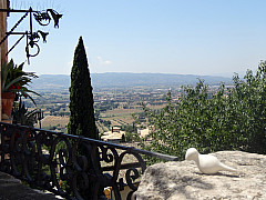 Italy, Assisi - Valley