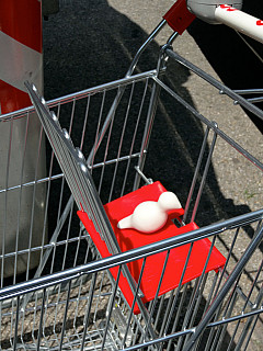 Italy, Florence - Grocery Basket