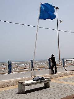 Morocco - Beach Flag
