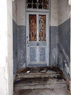 Morocco - Poop Door