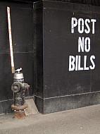 New York - Post No Bills