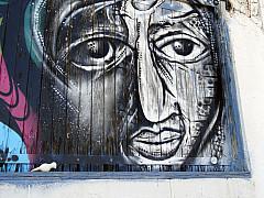 Savannah, Georgia - Graffiti Woman