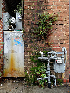 Savannah, Georgia - Meter Wall