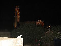 Israel - Night Steeple