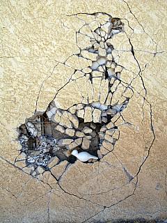 Mexico - Wall Crack