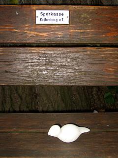 Germany - Sparkasse Bench