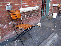 Indianapolis - Back Alley Chair