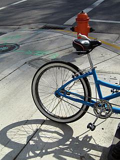 Portland - Bike Shadow