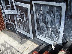 Baltimore - Black/White Mural