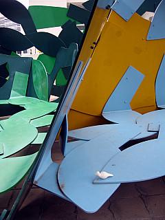 Baltimore - Cubism Bench