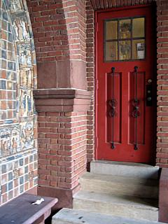 Baltimore - Red Church Door